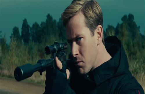 Actor Armie Hammer in US English Hollywood Film The Man from UNCLE Wallpaper