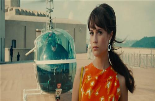 Beautiful Actress Celebrity Alicia Vikander in Hollywood Movie The Man from UNCLE Wallpapers