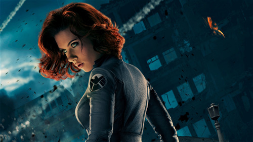 Black Widow Superhero Scarlett Johansson 5K Wallpaper