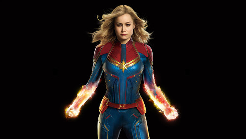 Captain Marvel 4K Wallpaper