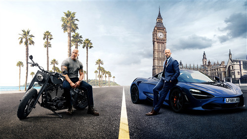 Fast and Furious Presents Hobbs and Shaw 4K Movie Wallpaper
