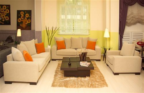 Beautiful Sofa Set of Living Room Home