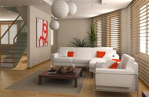 Good Design of Living Room Sofa Interior of Home Photo