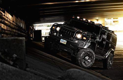 Black Hummer H2 Cars Wallpapers
