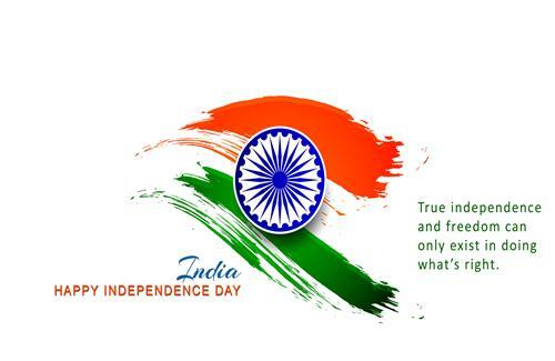 Happy Independence Day Greetings HD Wallpaper