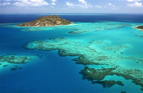 Beautiful Great Barrier Reef Queensland Australia HD Photo Background