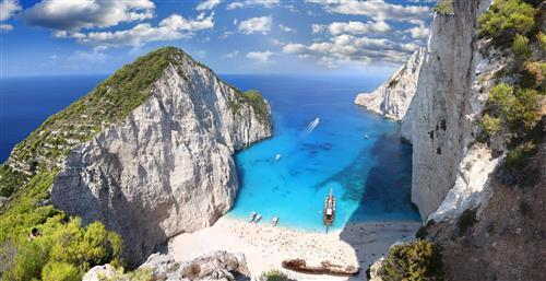 Ionian Sea Islands in Greece Tourist Place Wallpapers