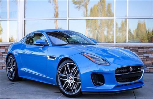2018 Jaguar F Type Awesome Blue Car
