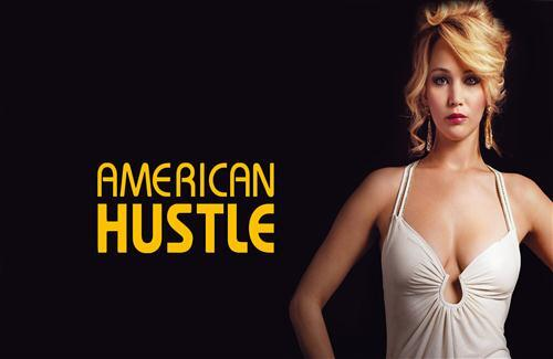 Jennifer Lawrence in American Hustle 2014 Hollywood Movie Actress Wallpapers