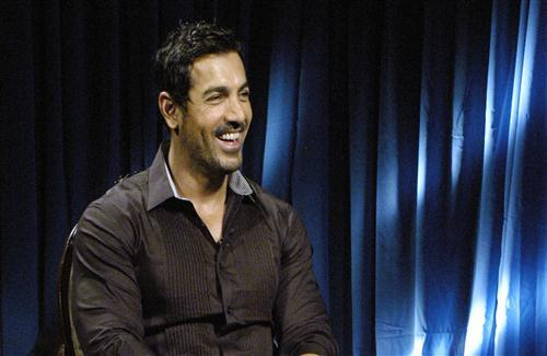 Smiling Face of John Abraham Wallpaper
