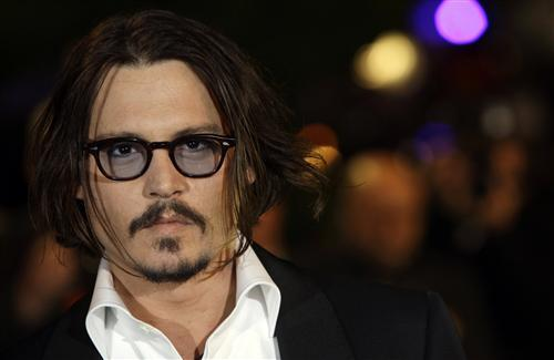 Johnny Depp In Gogglse