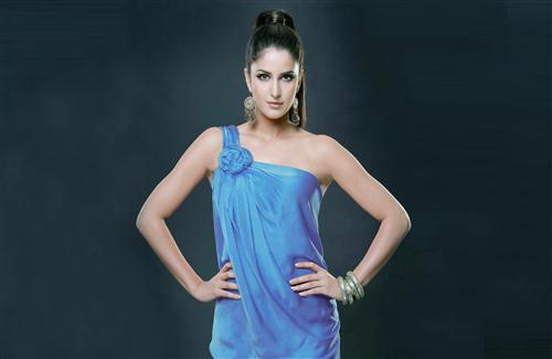 Katrina Kaif in Blue Dress Photo