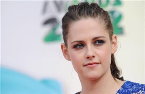 Beautiful American Celebrity Kristen Stewart Cute Eye HD Wallpaper