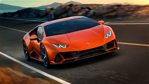 2019 Lamborghini Huracan EVO 8K Car Wallpaper