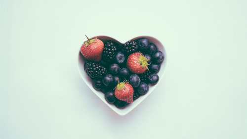 Strawberry and Other Fruits in Bowl 4K Wallpaper