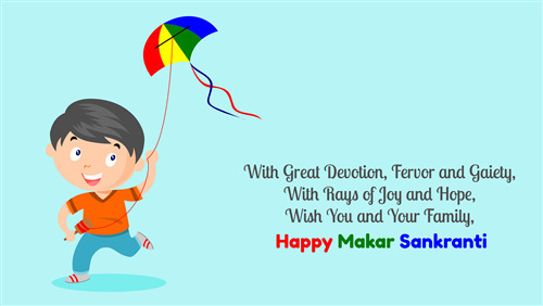 4K Pic of Wish You Happy Makar Sankranti