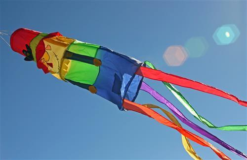 Beautiful Different Style Colorful Kites in Sky on Makar Sankranti Festival Wallpapers