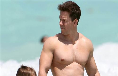 Actor Mark Wahlberg Body Photo