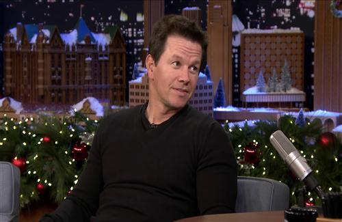 Mark Wahlberg During TV Interview Photo