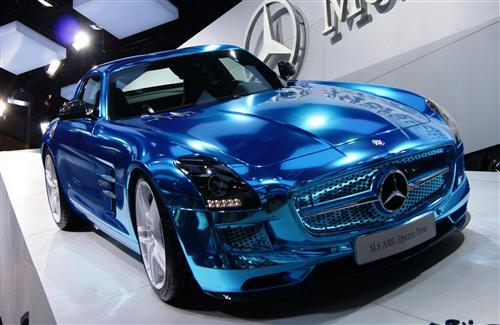 Mercedes SLS L108 Blue Edition Car Wallpapers