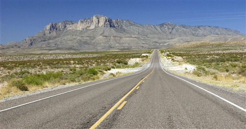 Beautiful Pic of Guadalupe Mountains National Park in Texas