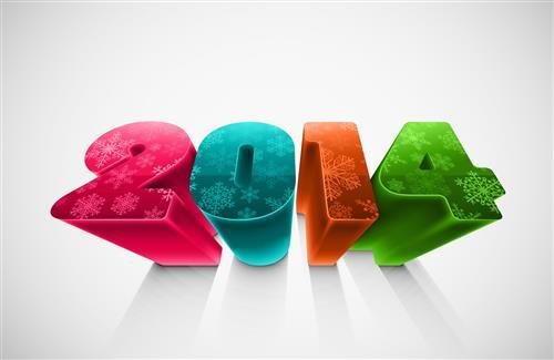 2014 Happy New Year Wishing Wallpaper Free Download