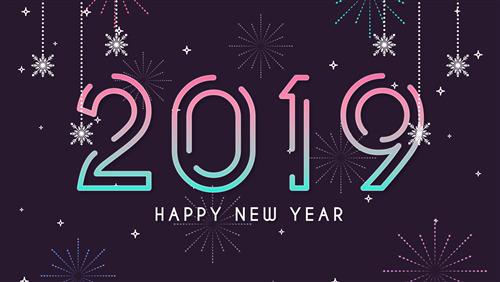 2019 happy new year hd wallpaper hd wallpapers