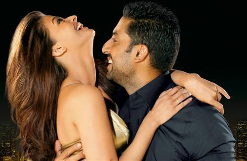 Abhishek Bachchan with  his wife Aishwarya Rai Bachchan