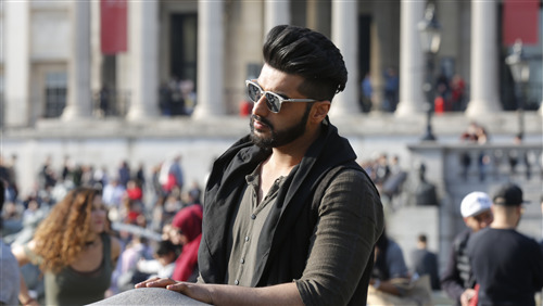 Arjun Kapoor New Hair and Saving Style 4K Wallpaper