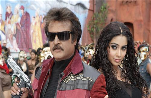 Big Superstar Rajnikanth in Sivaji The Boss Movie Photos