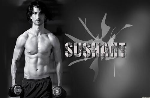 Six Pack Body of Sushant Singh Rajput Photo