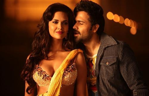 Esha Gupta with Emraan Hashmi