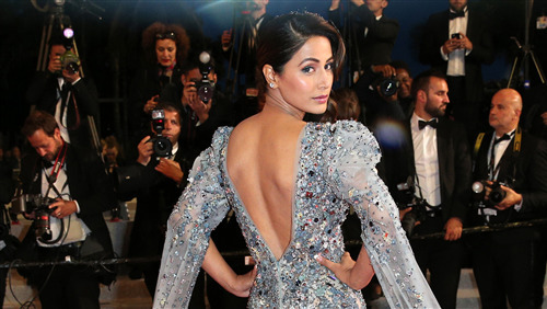 Hina Khan in Cannes Film Festival 2019 HD Wallpaper
