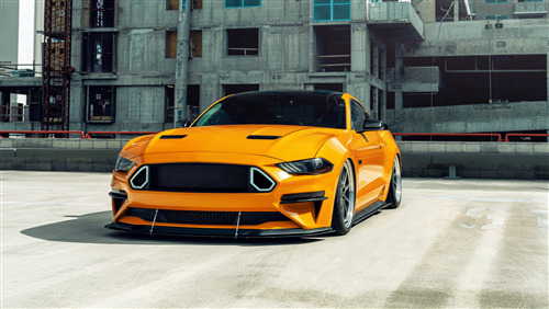 Ford Mustang GT 8K Wallpaper