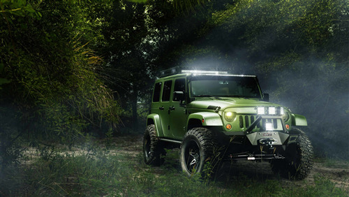 Jeep Wrangler 4K Wallpaper