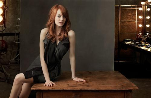 Actress Emma Stone Photography