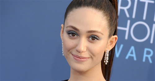 Emmy Rossum Cute Face Photo
