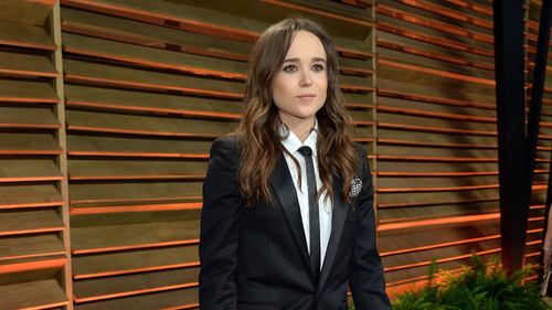 Popular Canadian Actress Ellen Page Pictures