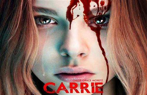 2014 Hollywood Movie Carrie Poster with Star Cast Chloe Moretz Wallpaper