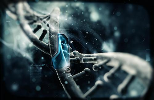 DNA Nano Tech Wallpaper