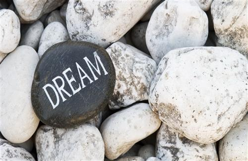 Dream on Pebbles Wallpaper