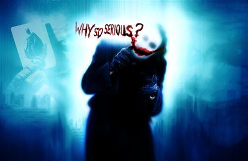 Why So Serious The Dark Knight Joker HD Wallpaper