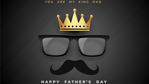 You Are My King Dad Fathers Day Wallpaper