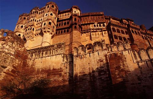Beautiful Mehrangarh Fort Tourist Place in India