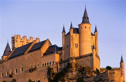 Segovia Castle in Spain Photo