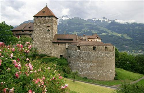 Vaduz Castle Residence of Prince Liechtenstein Photo