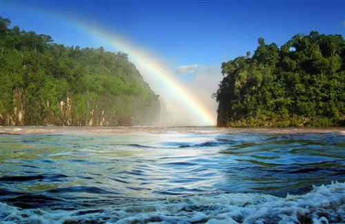 Big Rainbow Nature View
