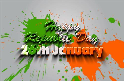 Happy Indian Republic Day 26 January Beautiful Wallpapers