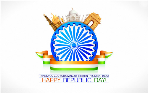 Wallpaper of India Happy Republic Day