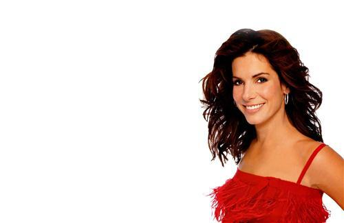 Celebrity Sandra Bullock in Red Top